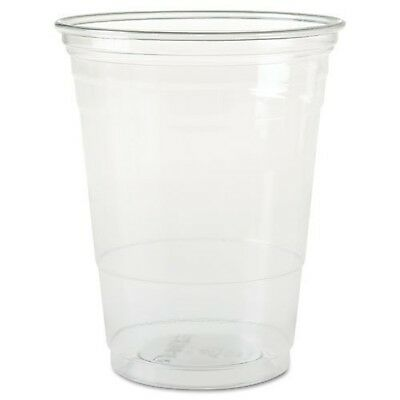 SOLO Cup Company Plastic Party Cold Cups, 16 oz, Clear, 50 pack 50 CUPS