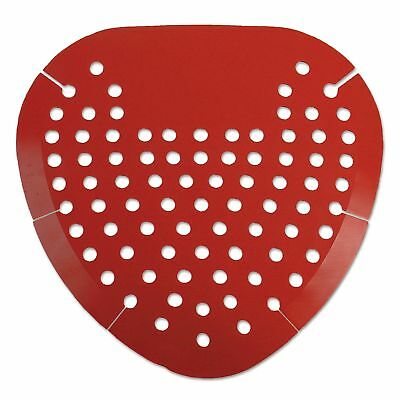 Boardwalk BWK1001 Urinal Screen, Cherry Fragrance, Red (Box of 12) Standard