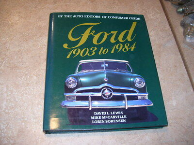 Book of Ford Cars 1903-1984 Brass Model T A Mustang History