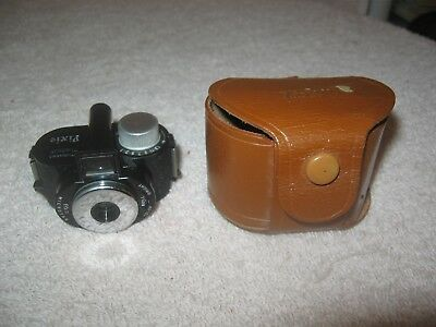 Vintage Pixie Whittaker Micro 16 Subminiature Camera W / Case