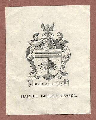 Harold G. Messel,  Eagle on swastikas  emblem  Tree  Danehill   Sussex     AH806