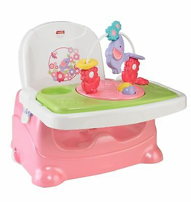 Fisher-Price Pretty 'n Pink Booster Seat, Elephant