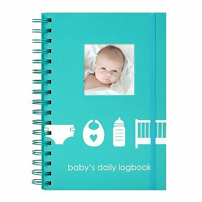 Pearhead Baby's Daily Log Book, 50 Easy to Fill Pages to Track and Monitor Yo...