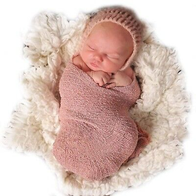 Sunmig Newborn Baby Stretch Wrap Photo Props Wrap-Baby Photography Props (War...