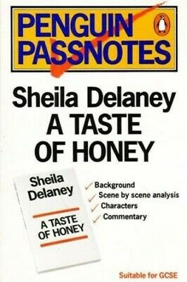 Penguin Passnotes: A Taste of Honey by Quilliam, Susan Paperback Book The Cheap