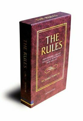 The Rules: A personal code for living... by Templar, Richard Mixed media product