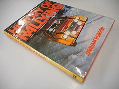 History of Rallying by Robson, Graham Hardback Book The Cheap Fast Free Post