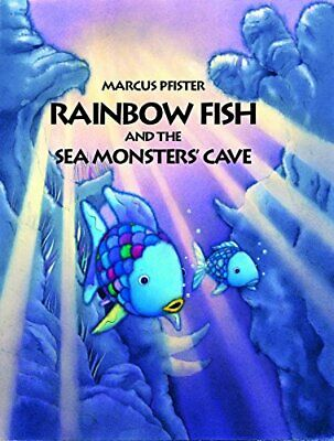 Rainbow Fish and the Sea Monster's Cave by Marcus Pfister Paperback Book The
