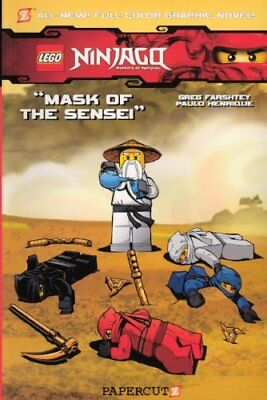 Lego Ninjago 2: Mask of the Sensei by Farshtey, Greg Book The Cheap Fast Free