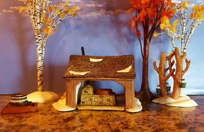 DEPT 56 Village MAPLE SUGARING Set of 3    New England, Tapping, Maples, Sugar