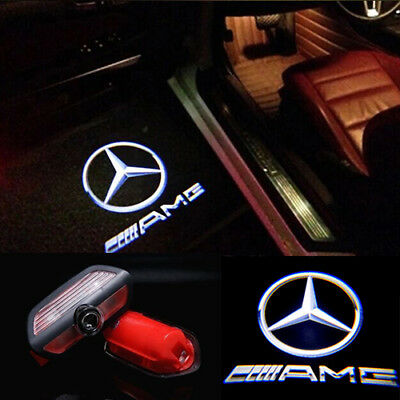 2 LED Door Step Courtesy Shadow Laser Holo Light for Mercedes S Class W222 2014+