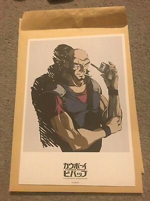 Cowboy Bebop 20th Anniversary Art Print - Jet [Limited Edition] (OOP!)