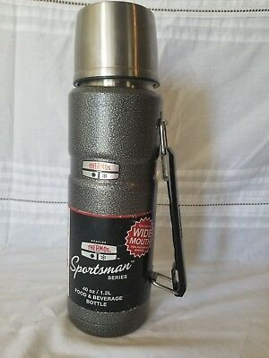 Thermos Brand Metal 40oz Sportsman Series Food & Beverage Wide Mouth Bottle Camp