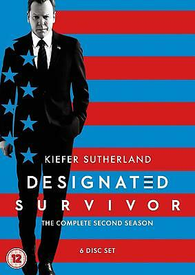 DESIGNATED SURVIVOR 2 (2017-2018) Political TV Season Series - Rg2 Eu DVD not US