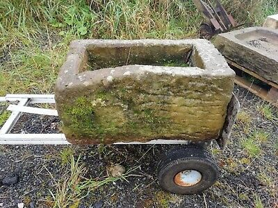 Vintage stone trough no cracks original