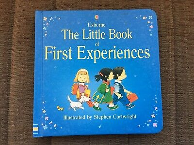 Usborne The Little Book of First Experiences Book - New