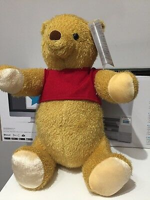 Christopher Robin Winnie The Pooh Limited Disney Store Plush Sold Out