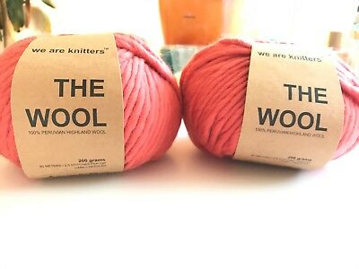 We Are Knitters - The Wool - 2 Stück In Der Farbe Pink