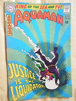 Aquaman #38 (Vol 1 1968) - from Brian Bolland collection