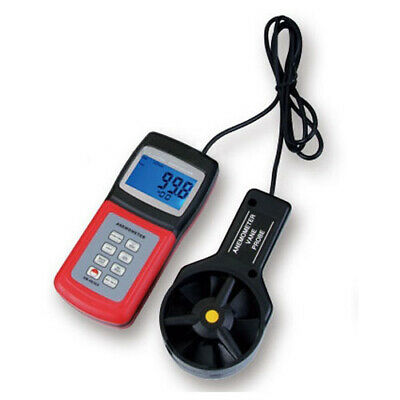 Anemometer with Thermometer - Gauge air / wind PRO (AM-4836V)