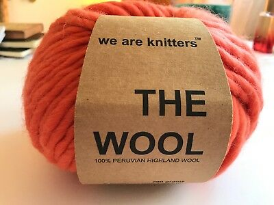 We Are Knitters - The Wool - 1 Stück in der Farbe Coral
