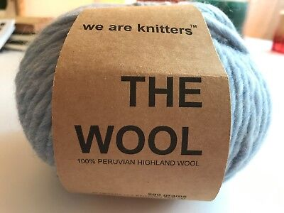We Are Knitters - The Wool - 1 Stück in der Farbe Denim