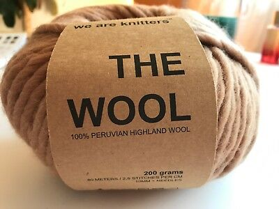 We Are Knitters - The Wool - 1 Stück in der Farbe Beige