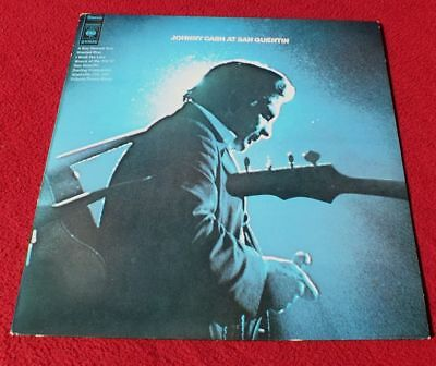 Vinyl LP* Johnny Cash ‎– Johnny Cash At San Quentin (1969) *RAR, wie neu *TOP