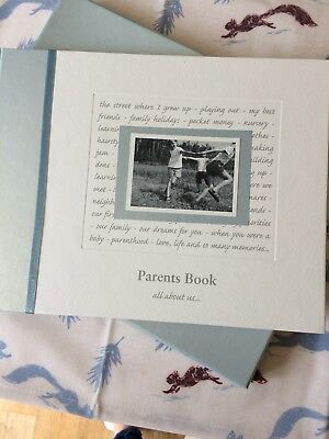Parents Book All About Us... Perfect New Baby Gift & Keepsake, Boxed