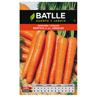 Batlle vegetable seeds - Carrot Nantesa 2 Urgelba (10g)