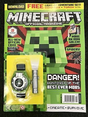 Minecraft Official Magazine (Brand New Sealed Pack)