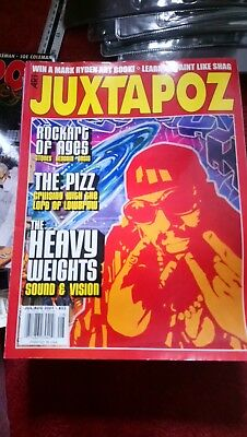 JUXTAPOZ MAGAZINE Featuring The Pizz #33 July/August Rare Edition
