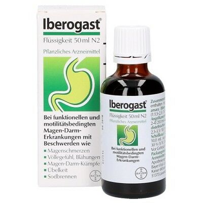 IBEROGAST GOTAS ORALES 50ml BAYER 688033 100 % ORIGINAL