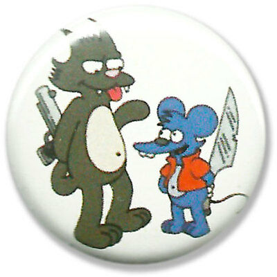 Itchy Scratchy Simpsons Homer Marge Maggie Lisa Bart Ned Flanders Barney Button