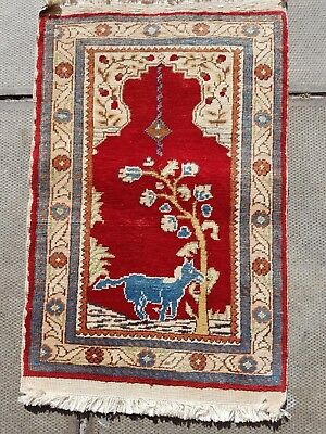 Turkish Silk Rug 60x40 cm
