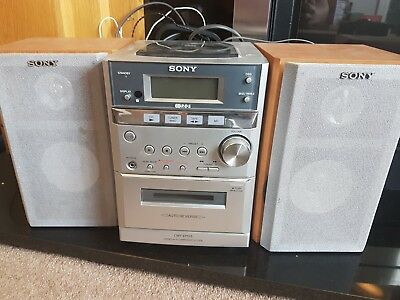 Sony CMT-EP515 Micro Hi-Fi Component System CD player, cassette tape, radio