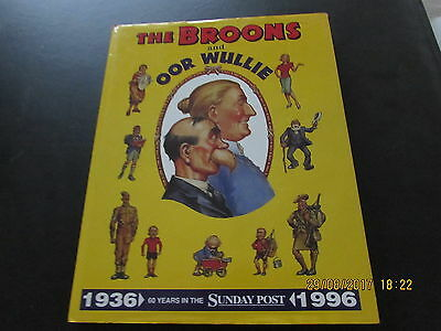 THE BROONS & OOR  WULLIE - 60 YEARS in the SUNDAY POST   D/J V/GOOD FOR AGE