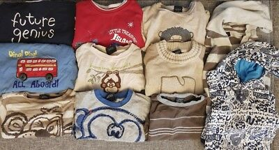 Bundle Boys tops 12-18 Months all from Next