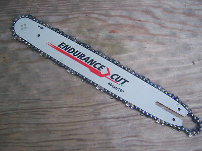 """16"""" Chainsaw Guide Bar And Chain To Fit Stihl Chainsaw 55 Links 3/8"""" Pitch 1.3Mm"""