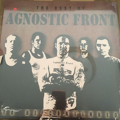 THE BEST OF Agnostic Front TO BE CONTINUED LP Orig. verschweißt NYHC Red Vinyl