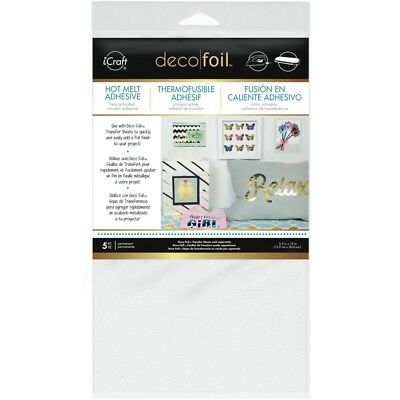 "Deco Foil Iron-On Adhesive Transfer Sheet 5.5""X12"" 5/Pkg"