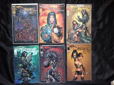 The Darkness Lot of 6 comics Top Cow #7 8 9 10 2 different 11