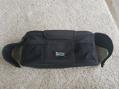 Britax pushchair Stroller Organizer with insulated Cup Holders, Black