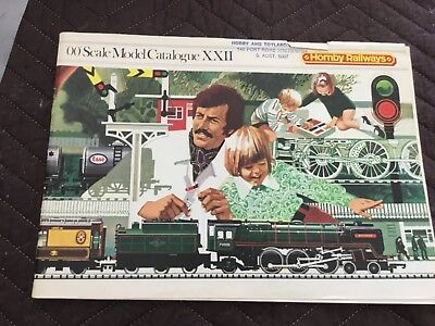 VINTAGE HORNBY MODEL RAILWAY CATALOGUE 1976 22 nd EDITION