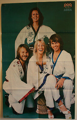 ABBA - Lot of 4 Original vintage posters