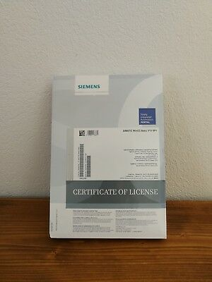 Siemens Software Simatic WinCC Basic V13 SP1 Neu Original eingepackt.
