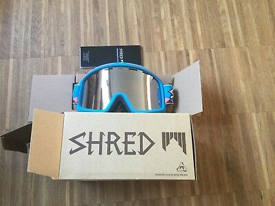 Shred Monocle Blue Schneebrille