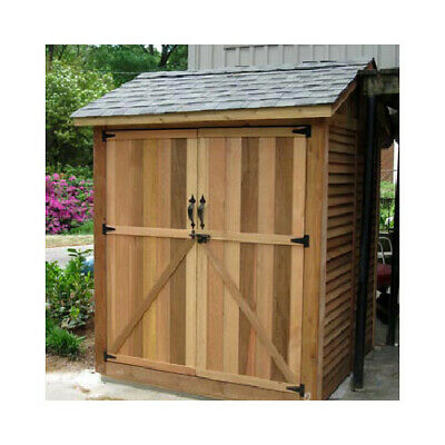 Outdoor Living Today Maximizer 6 ft. W x 6 ft. D Wooden Storage Shed