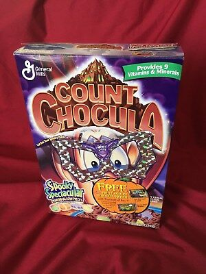 Count Chocula Monster Cereal Box 2000 General Mills Halloween Frame