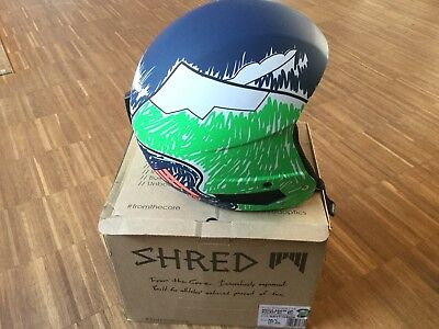 "Shred Brain Bucket ""Need more snow"""